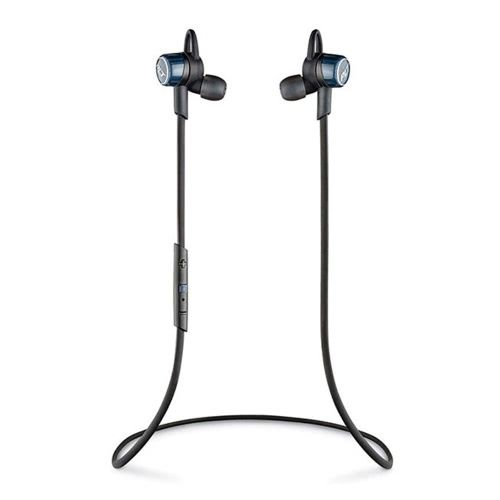 Plantronics Backbeat Go 3 Bt Headphones In Ear Headset Stero Sound Moisture Resistant Earbuds Phone Call With Charge Case Cobalt Plantronics Earbuds Headphones