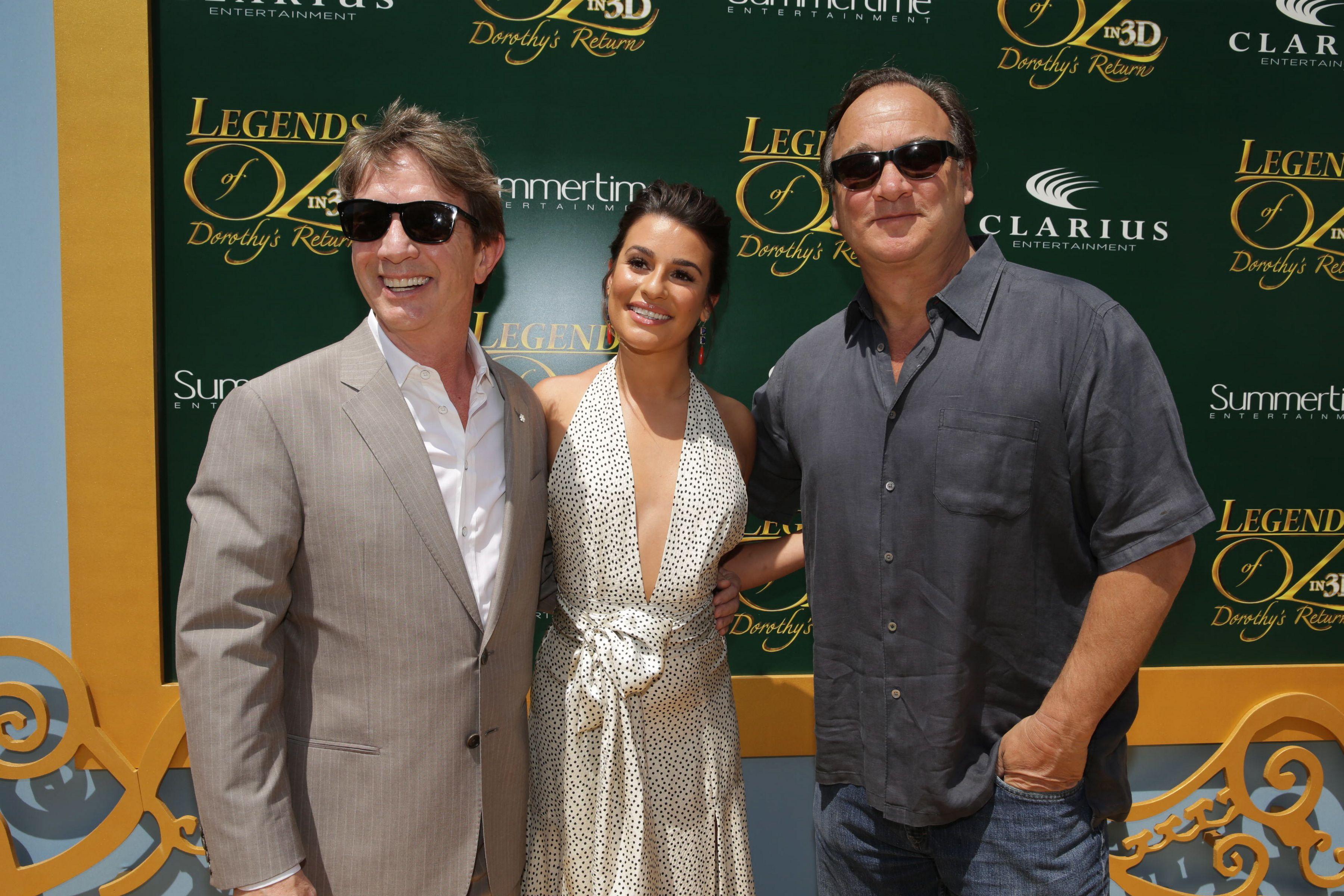Cast Members Martin Short, Lea Michele and Jim Belushi at