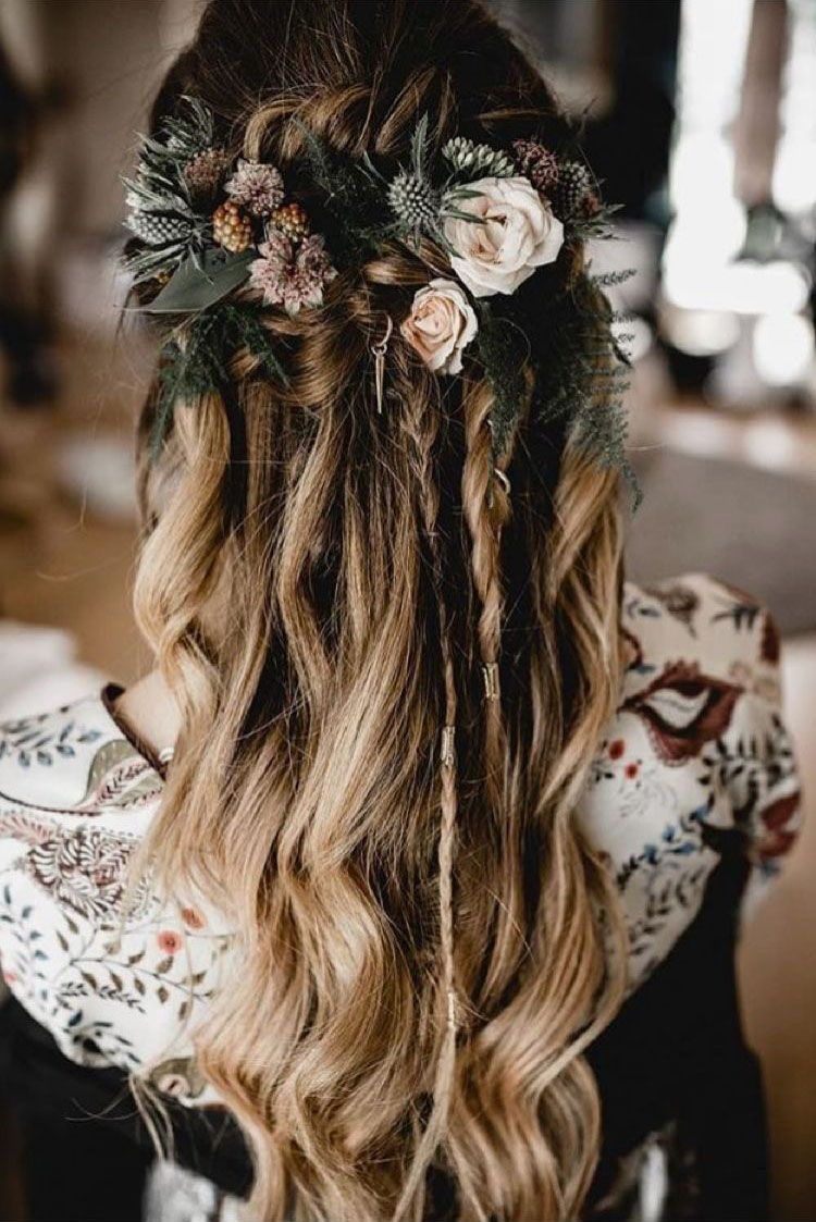 SEEING THESE 61 BRIDE HAIRSTYLES WILL MAKE YOU WANT TO BE A BRIDE RIGHT AWAY - Page 48 of 61 #bridalhairflowers