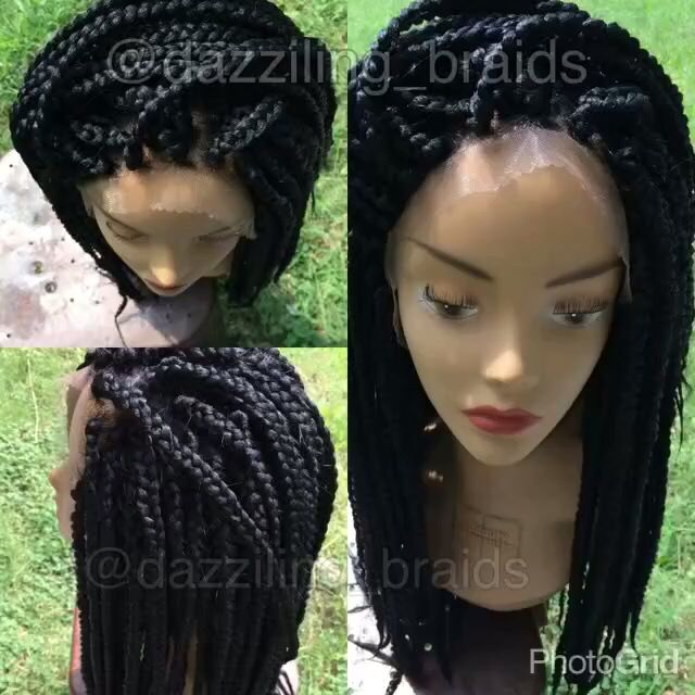 front hair braid styles my lace front braid wig hair styles braids 7932
