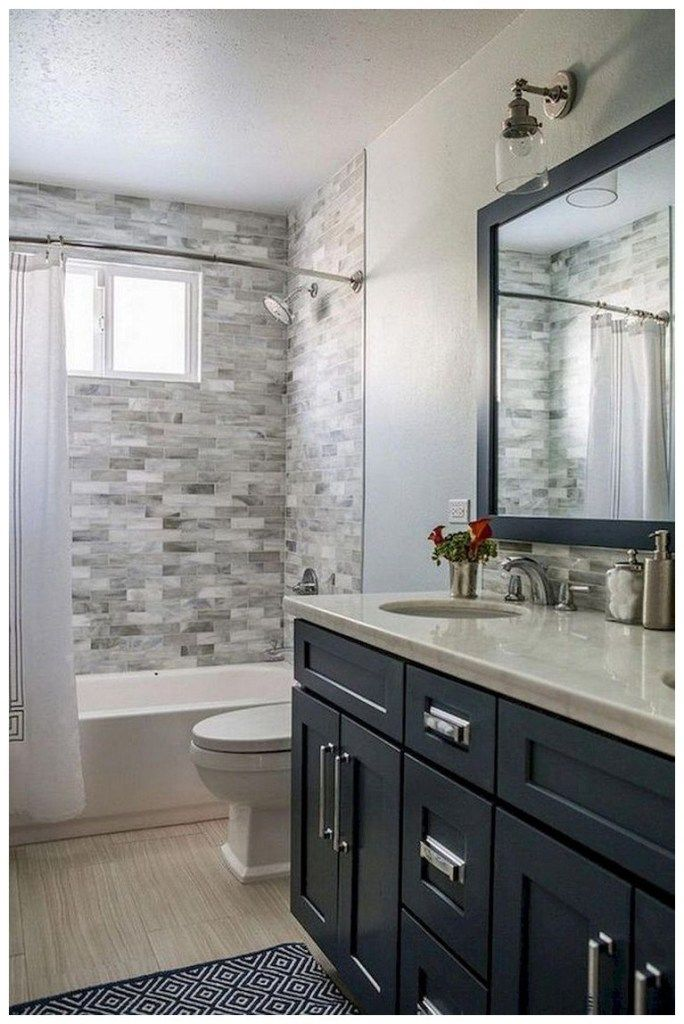 44 tips and ideas how to make a small bathroom look bigger ...