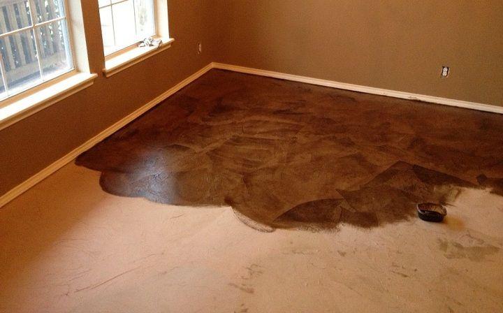 diy+interior+concrete+floor+stain