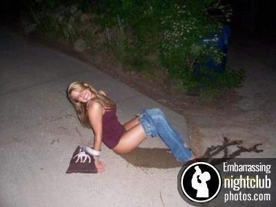 Girl peeing embarrasing