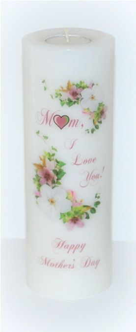 Celebration candles Mother's Day candle by DesignsbyDMCandles