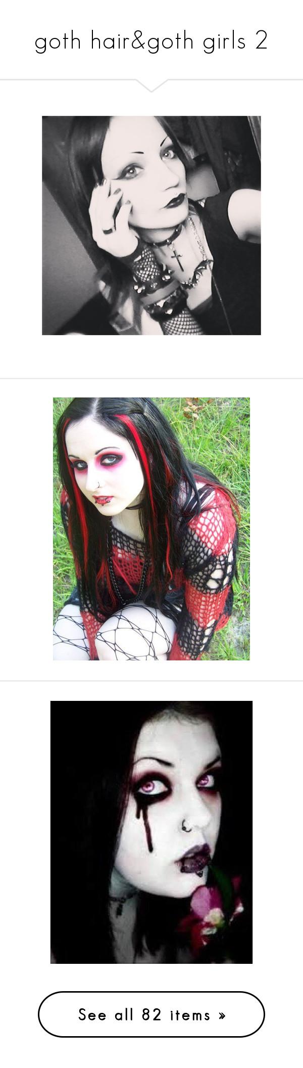 Goth hairugoth girls