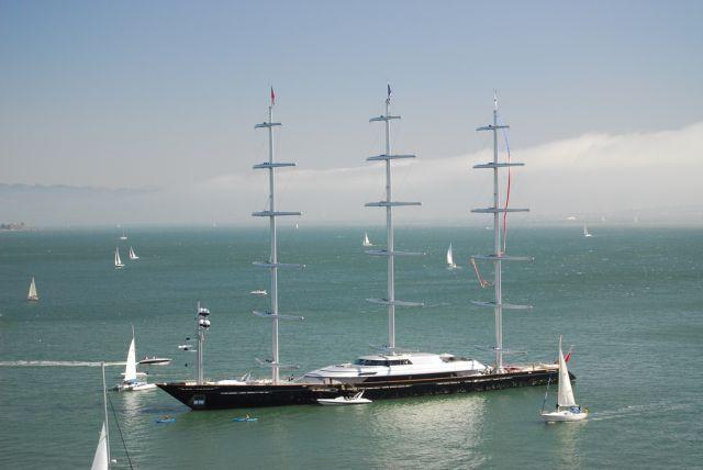 Elena Ambrosiadou Buys Superyacht Maltese Falcona Z Sailing Yacht Maltese Falcon Yacht Classic Sailing