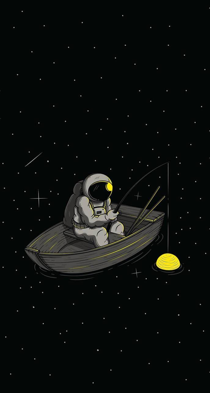Moon man wallpaper by Dragosv10 - 82 - Free on ZED