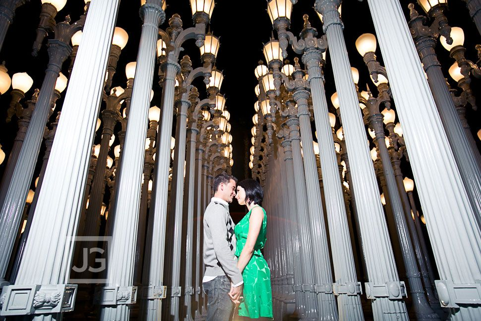 best spots for engagement photos in LA Exploring La