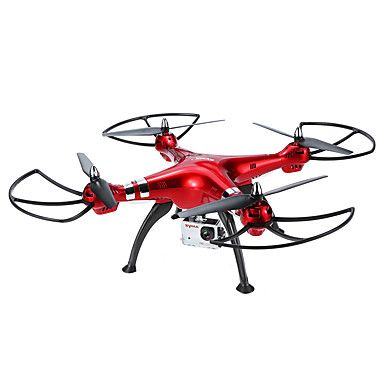 Syma X8HG With 720P HD Camera High Hold Mode 6-Axis Gyro Headless Mode RC Quadcopter RTF 2.4GHz #quadcopters #tech #rc #drone #multirotors
