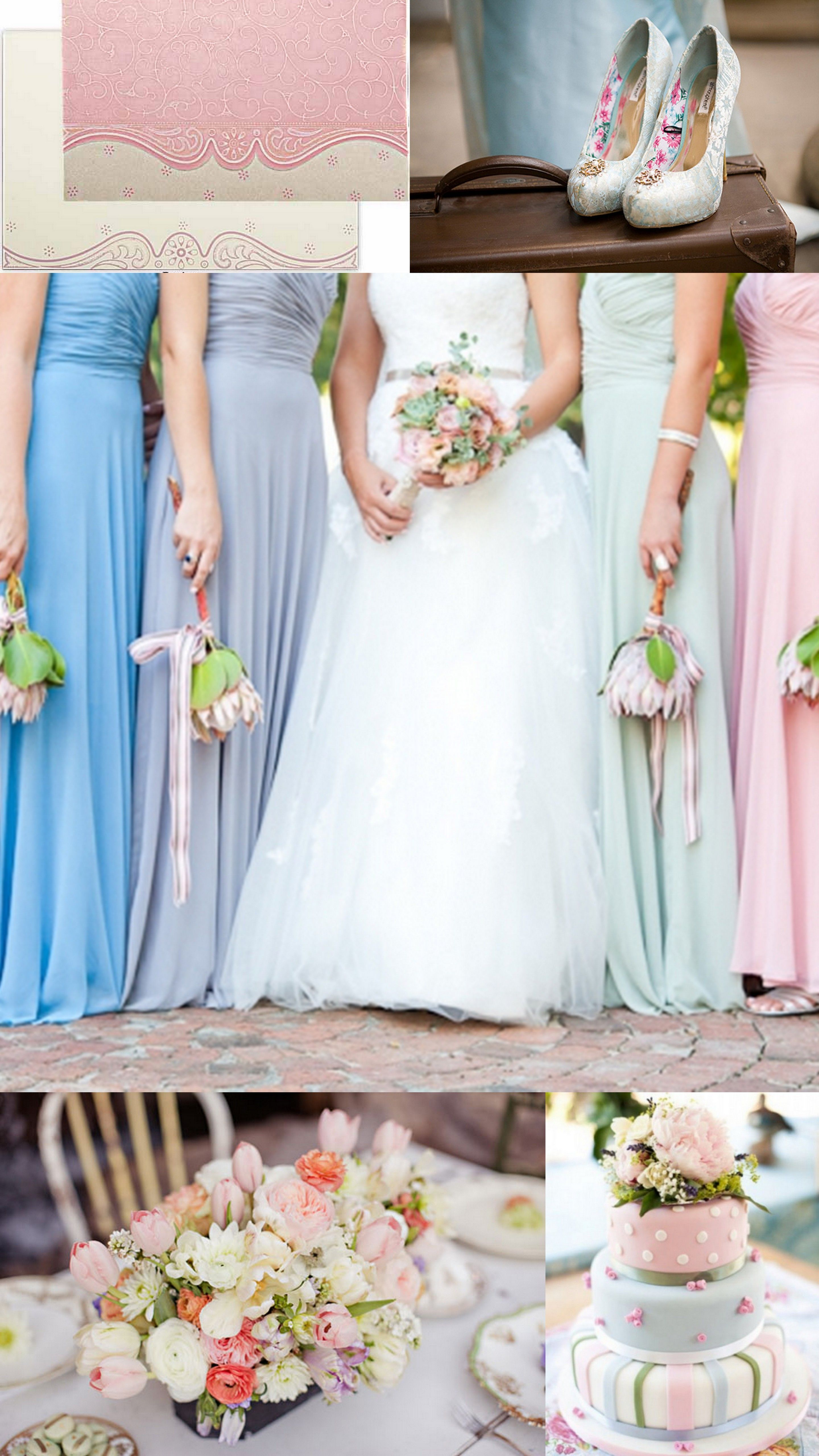 Plan your big day to pastel perfection with our pastel pink custom ...
