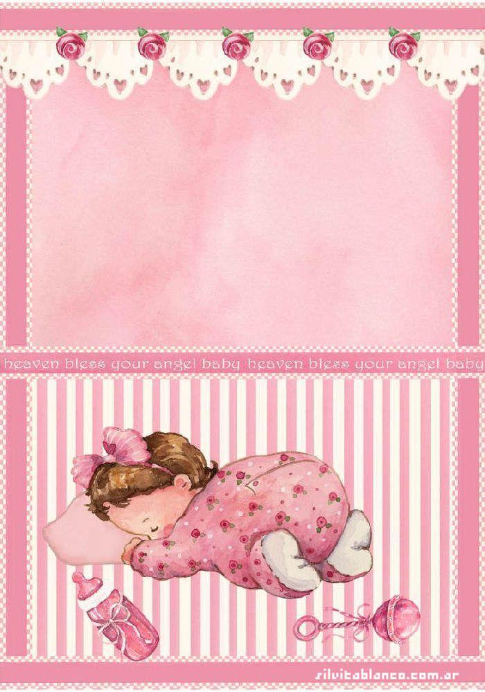 Fondos con mariposas de baby shower niña - Imagui