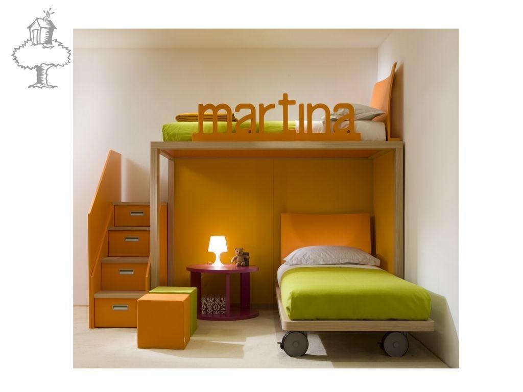 KINDERKAMERS DEARKIDS - Compact dear kids, Box, Italiaanse meubelen ...