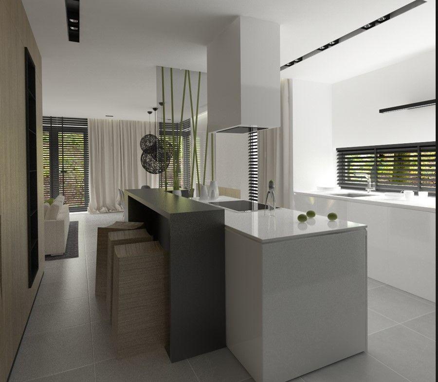 Jasna Kuchnia Otwarta Na Jadalnie I Salon Inspiracja Homesquare Home House Kitchen