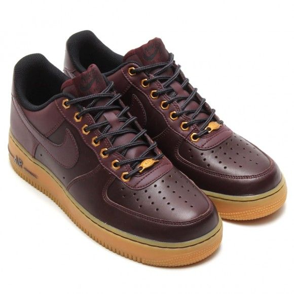 Nike Air Force 1 Low Deep Burgundy 2014 Winter Pack ...
