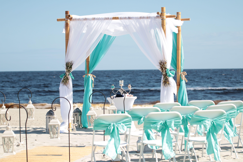 Beautiful Beach Weddings In Carolina Beach Nc Beach Glass Art Beach Wedding Packages Window Art