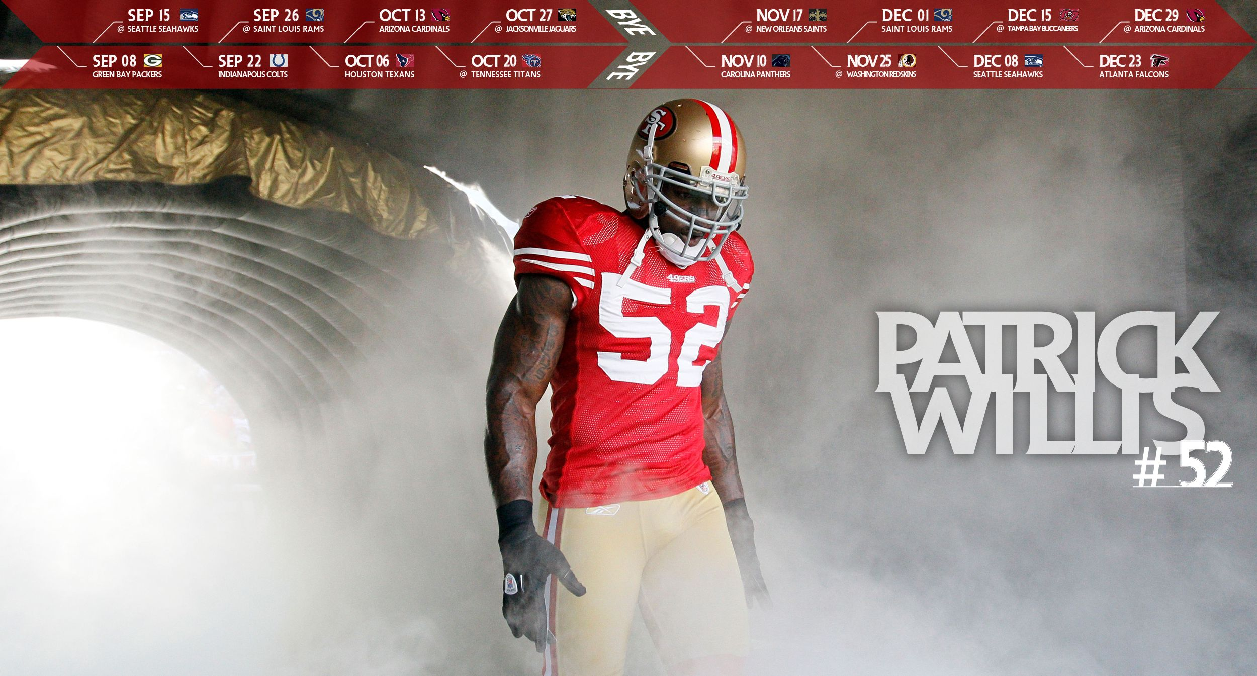 49ers wallpaper 2013 Patrick Willis desktop wallpaper
