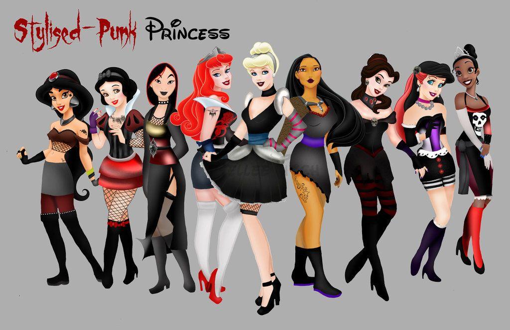 Emo Disney Drawings Emo Disney Characters