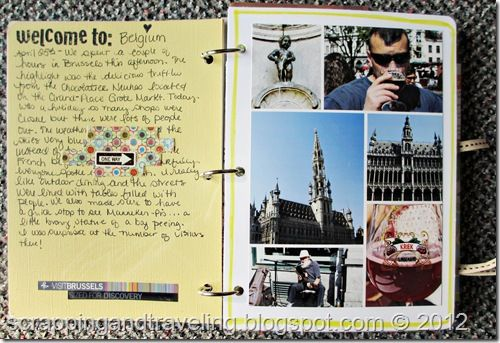 Scrapping And Traveling Travel Journalsscrapbooks Travel Journal