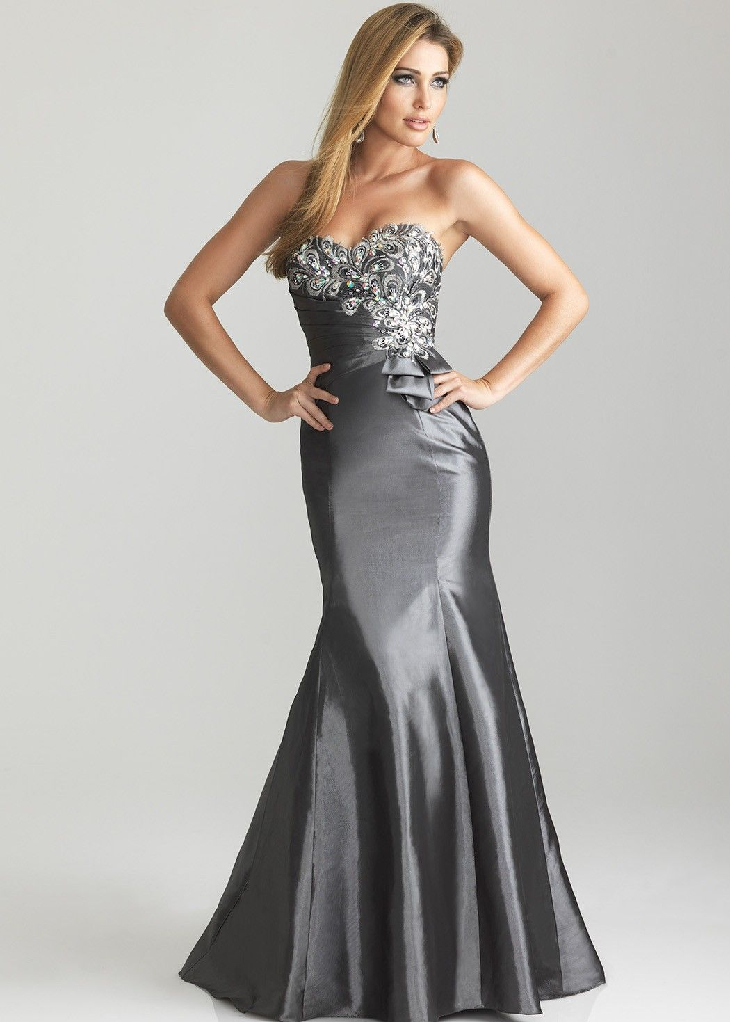 Night moves charcoal evening gown havenus senior promeas