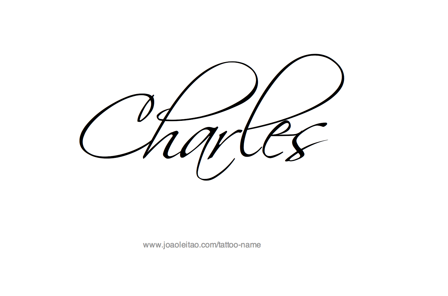 Charles name tattoo designs tattoo designs and tattoo page with 31 different design font styles for the name charles make charles name tattoo biocorpaavc Images