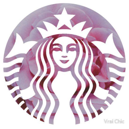 Starbucks Mermaid Pink Petals Logo