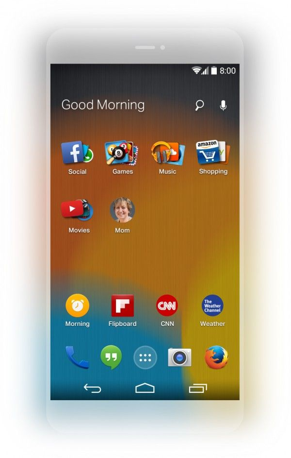 Preview of Firefox Launcher for Android Android