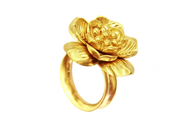 Lotus Flower Ring Etsy Lotus Rings Lotus Flower Ring Lotus