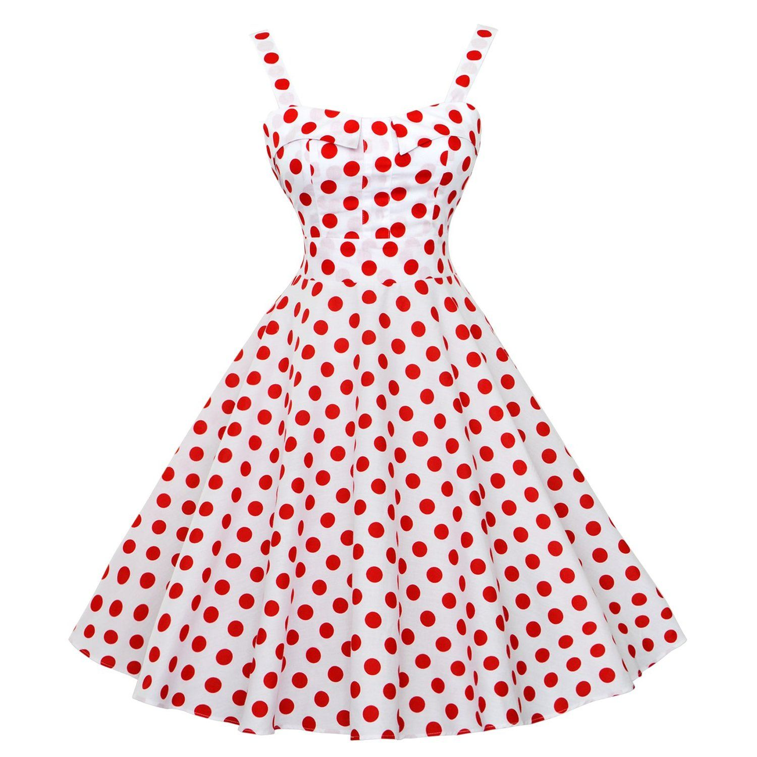 edb9c04e38be Maggie Tang Women's 1950s Vintage Rockabilly Full Circle Swing Party Dress  -- You can get more details here : cocktail dresses