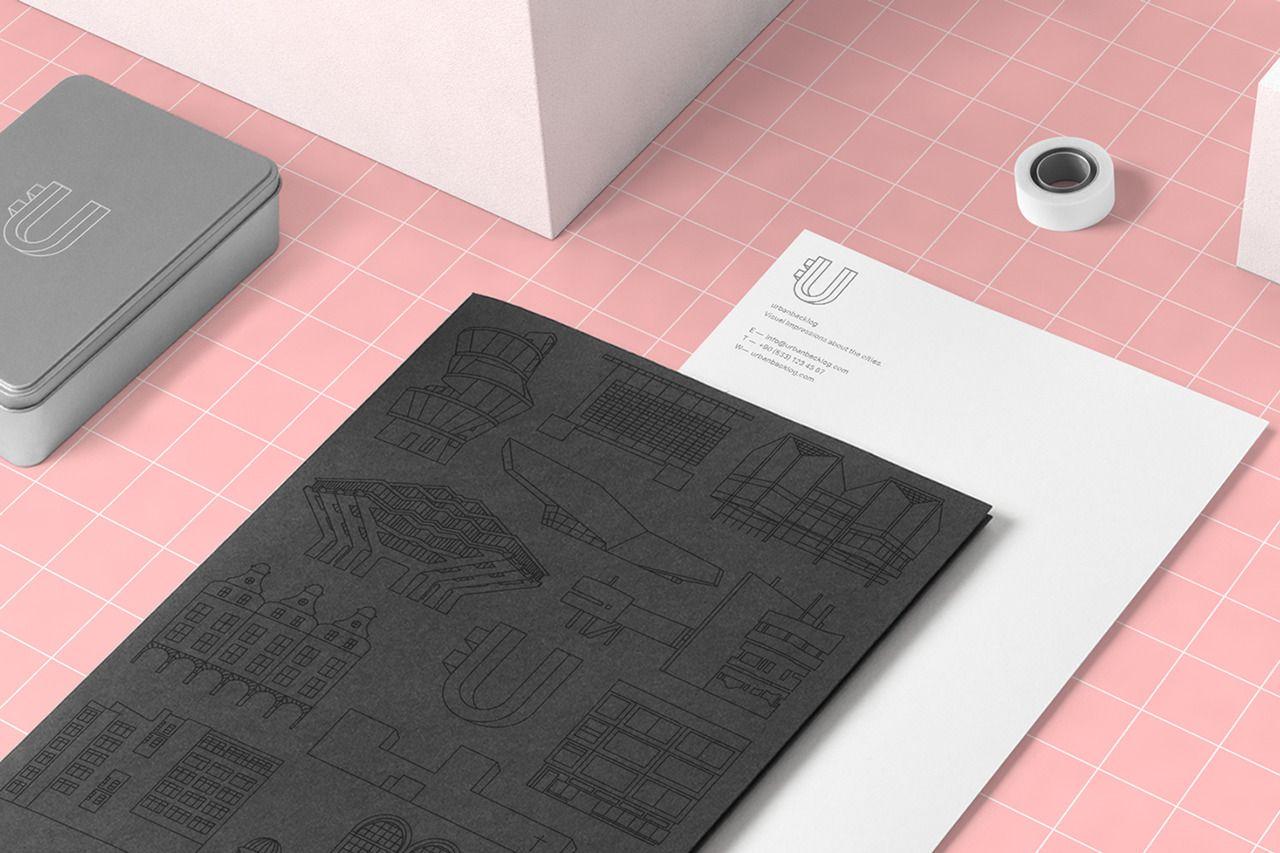 Urbanbacklog – branding  http://mindsparklemag.com/design/urbanbacklog-branding/ #designblog #branding