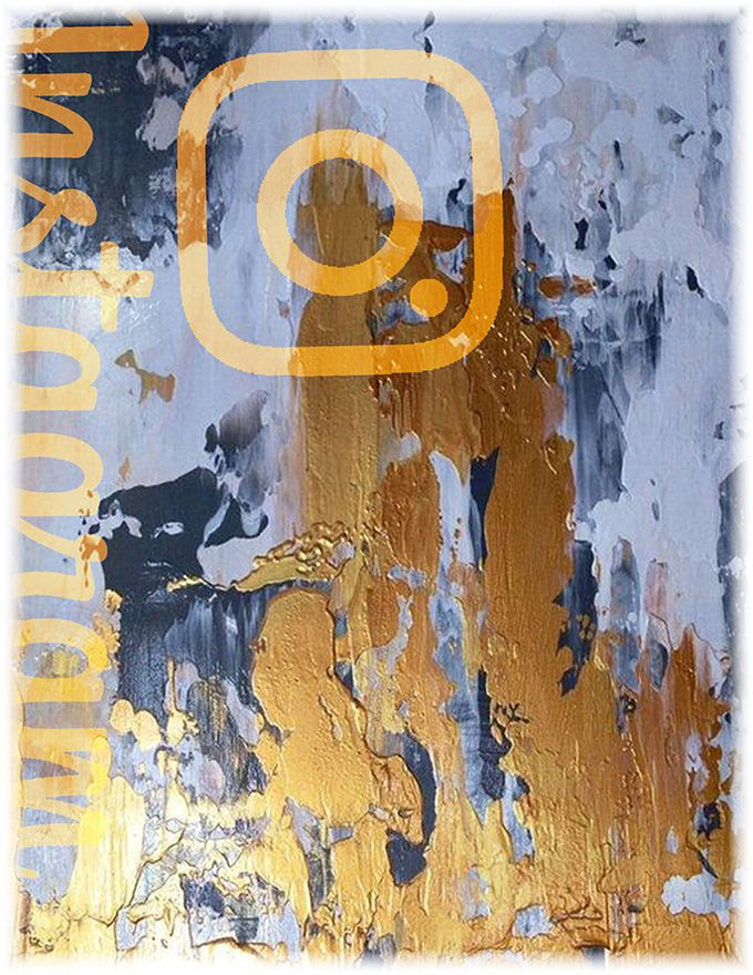 LIDIA MCGRIGOR Instagram Abstract Paintings 06 60x80 (con