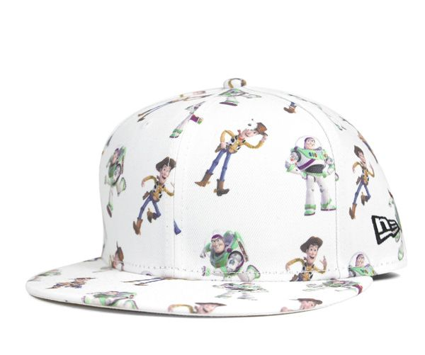 54ce7ad084 NEWERA×TOY STORY 9FIFTY SNAPBACK CAP ALLOVER BUZZ WOODY WHITE ...