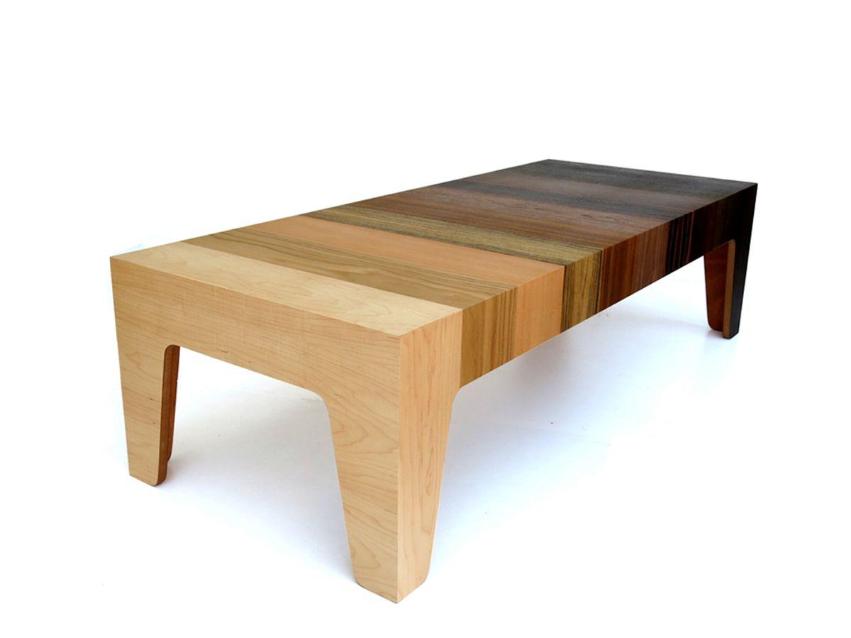 Eli Chissick Gradient Coffee Table 4 Design Milk Kayu [ 899 x 1200 Pixel ]