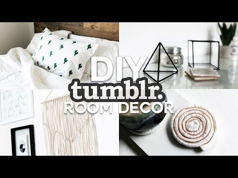 Diy Tumblr Inspired Room Decor Minimal Simple 2016 Youtube