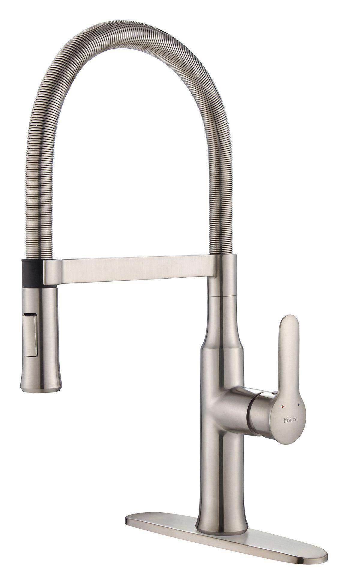 Nola™ Single Lever Flex Commercial Style Kitchen Faucet | Products ...