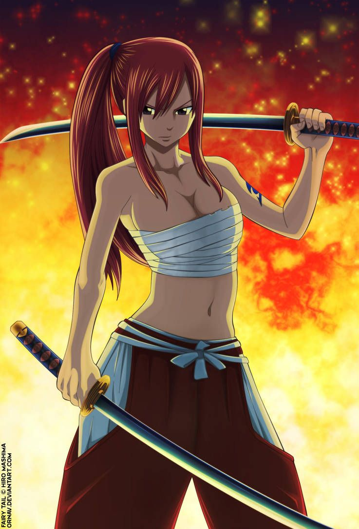 Fairy Tail 235 Erza Cover by Ornav on DeviantArt