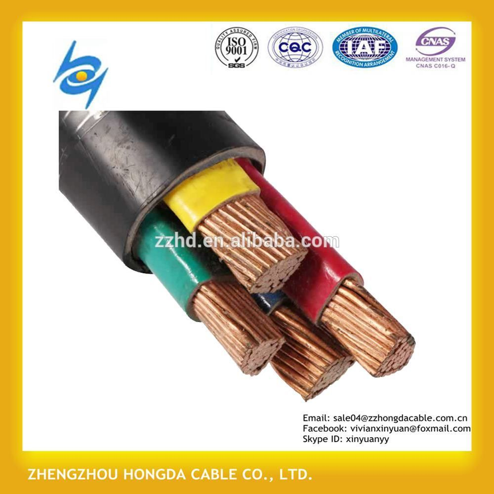 XLPE / PE / PVC Insulated 120mm abc cable with price | 0.6/1KV ABC ...