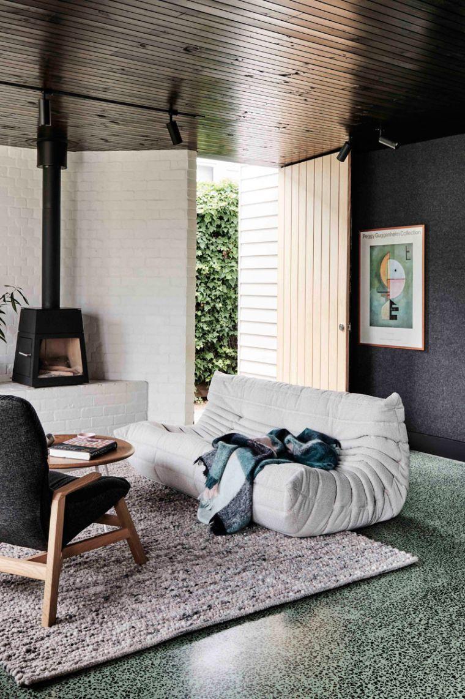Un Design Intérieur Chic Et Cosy Du0027une Extension De Maison Australienne
