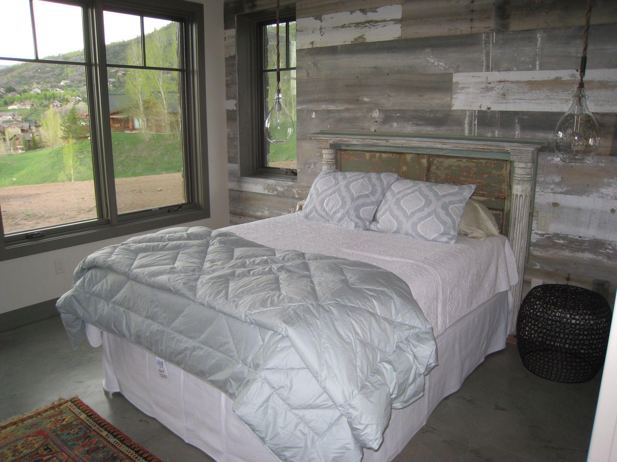 Need a new idea? Add white /grey barn board siding and