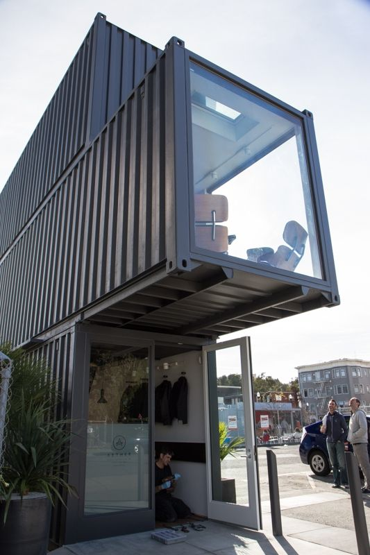 Aether Store Is A Standout In Temporary Container City En