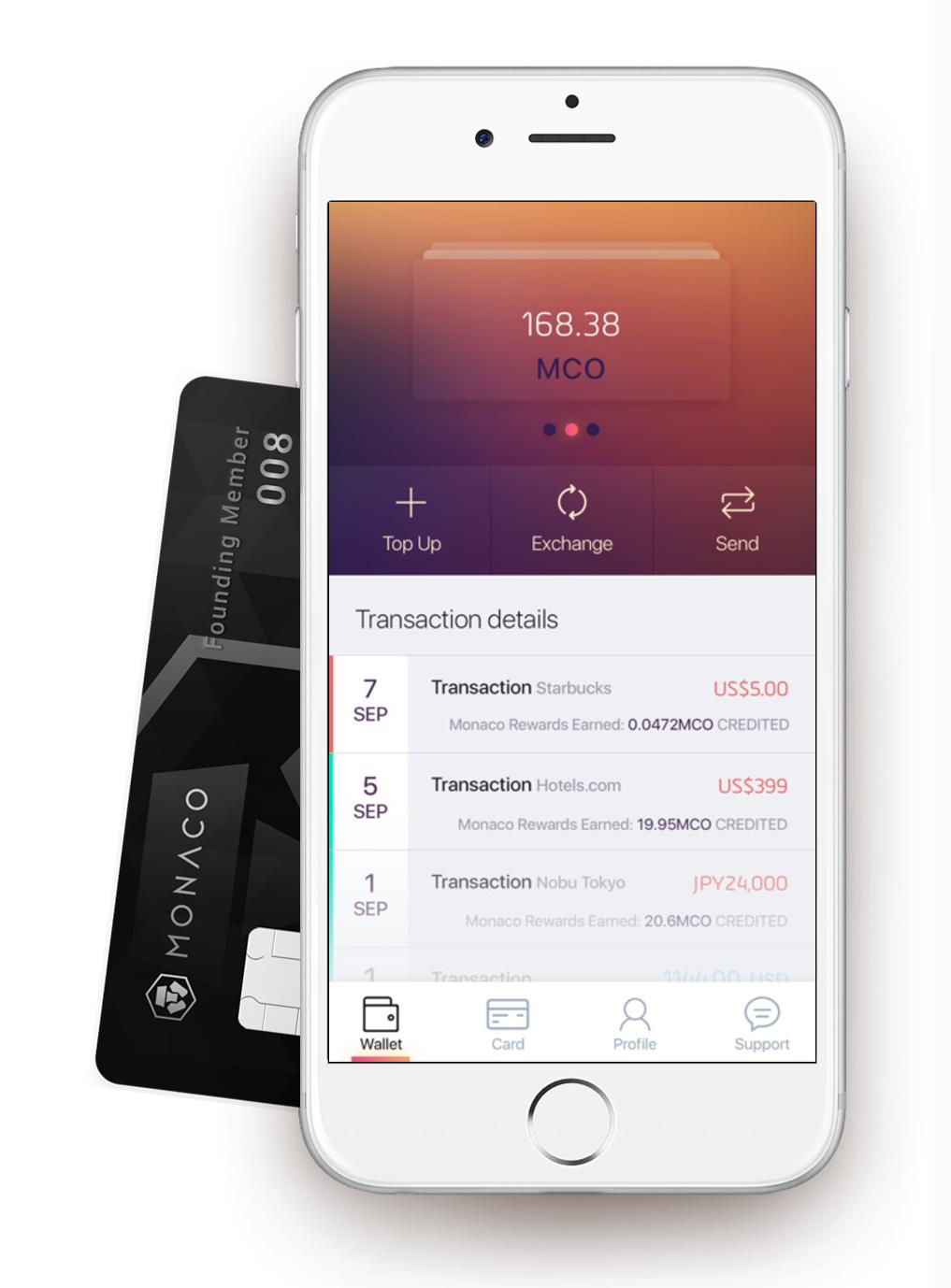 monaco cryptocurrency app