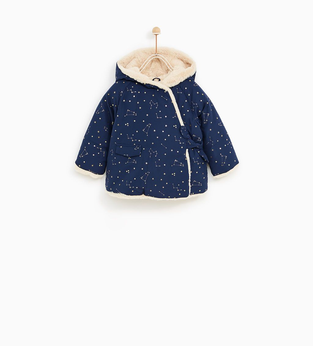 La Redoute Collections Big Boys Padded Jacket with Faux Fur Collar 3 Months-3 Years
