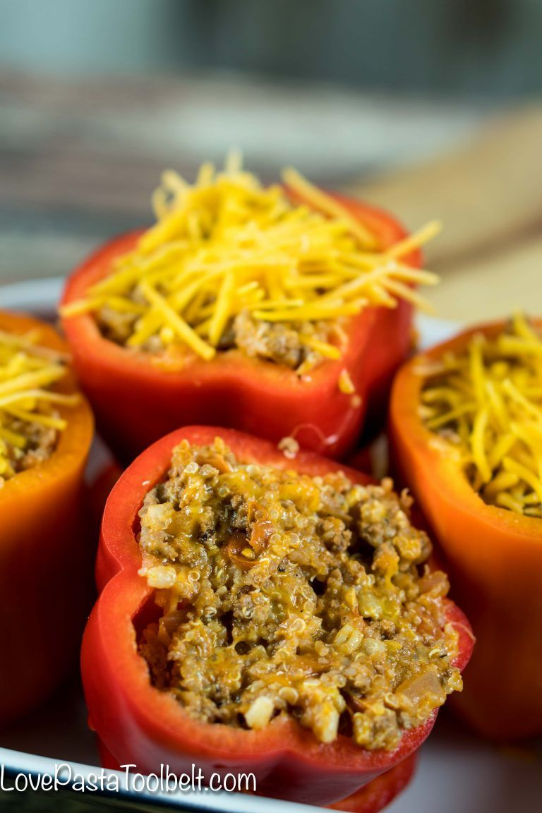 Cheesy Quinoa Stuffed Bell Peppers Stuffed Peppers Stuffed Bell Peppers Stuffed Peppers Beef