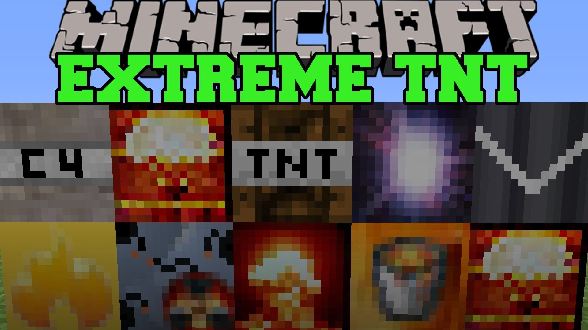 Minecraft: EXTREME TNT (SUPERNOVA, HYDROGEN BOMB, & MORE