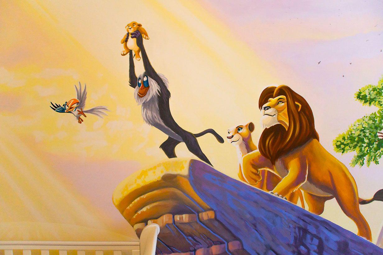 Lion King Mural Lion King Nursery Lion King Pride Rock