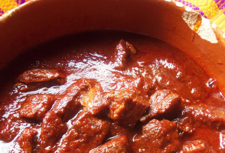 Pork Stew in Red Chile Sauce Recipe – (Asado de Chile Colorado)