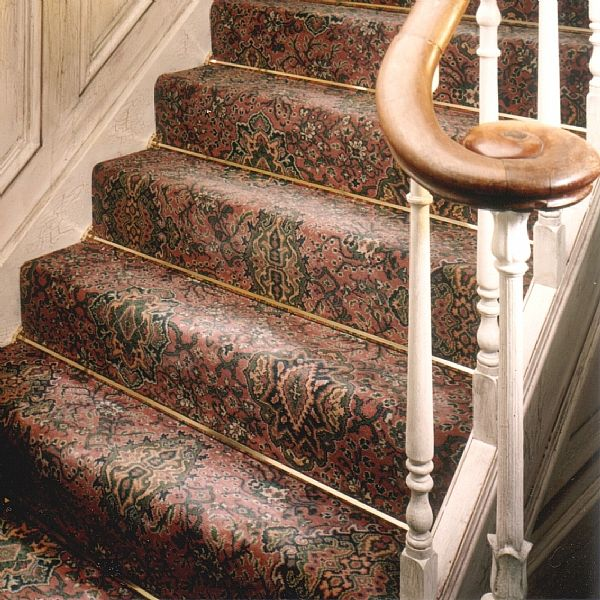 You Donu0027t Often See Stair Rods For Fitted Carpets   Fabulous Trad Look.