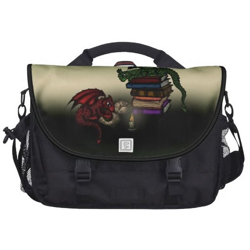 Library Dragons Laptop Computer Bag