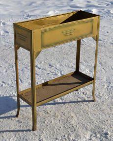 mobilier de jardin ancien et objets en fer brocante déco
