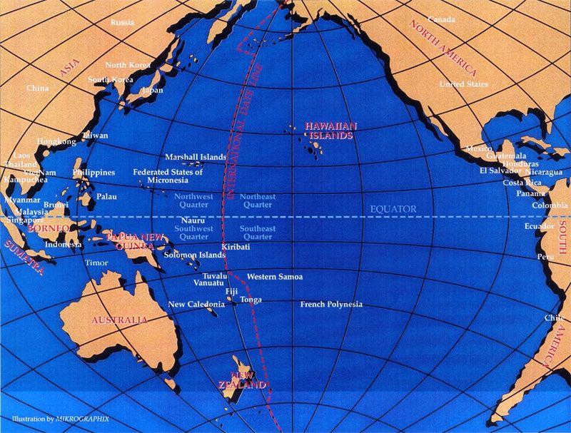 pacific-rim-map-lg1jpg (800×607) Pacific Pinterest - new world map fiji country