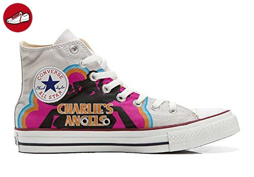 Converse All Star Hi Customized personalisierte Schuhe (Handwerk Schuhe) Charlies Angels